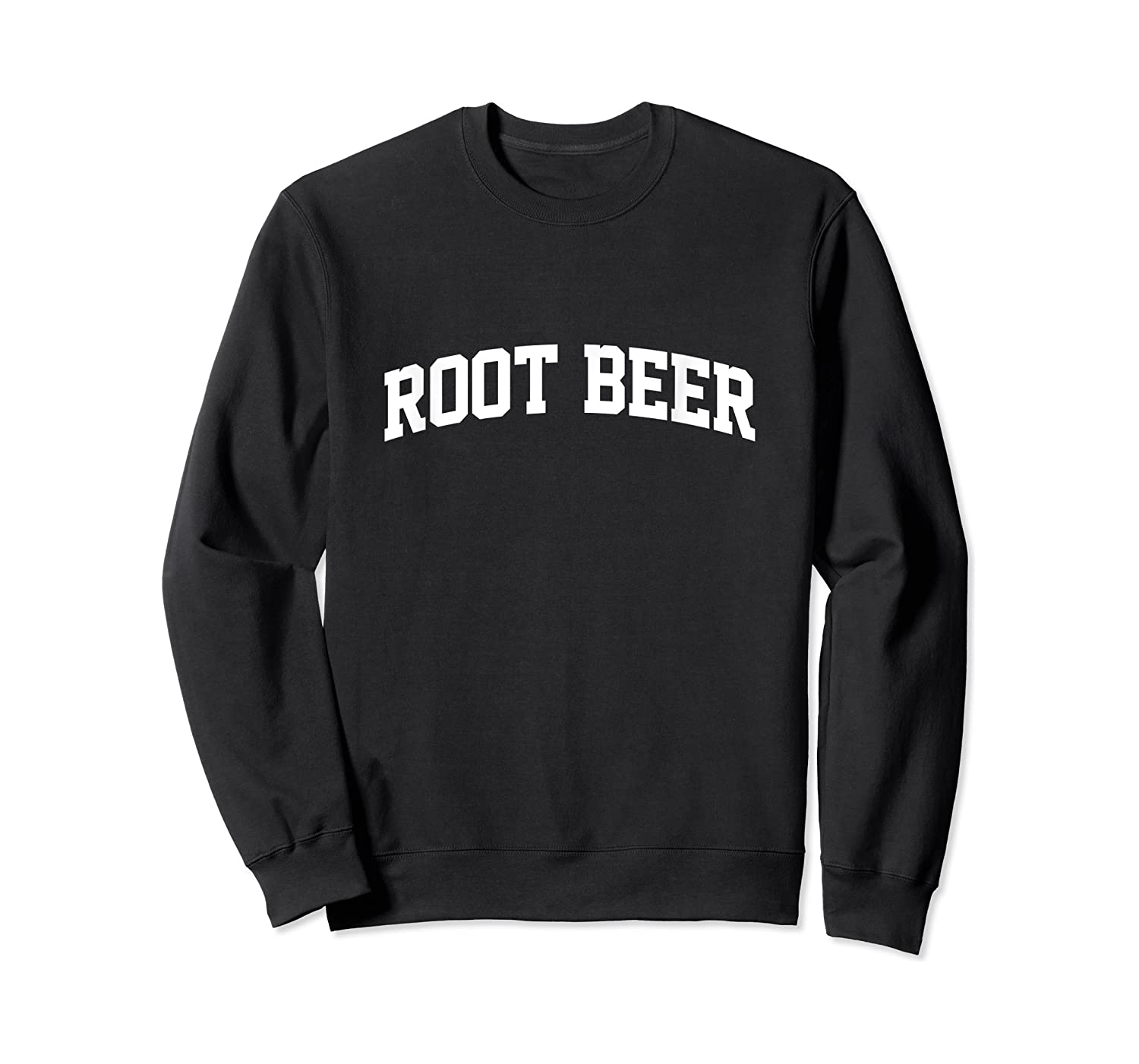 Root Beer Vintage Sports Arch Funny Shirts Crewneck Sweater