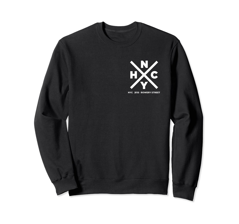 Nyhc Newyork Hardcore Punk T Shirt Front N Back Side Print Crewneck Sweater