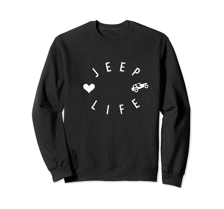 Off Road Retro Style 4x4 Shirts Crewneck Sweater