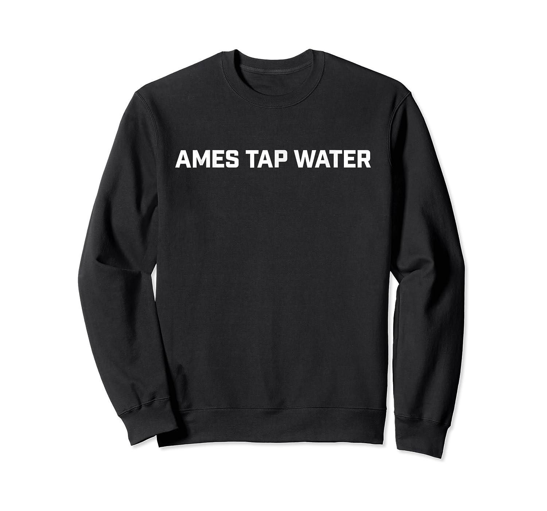 Ames Tap Water Basic T-shirt, On Dark Crewneck Sweater