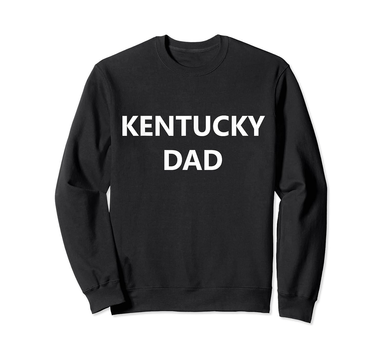 Kentucky Dad Basketball Hoops College Big Blue Madness Gift T-shirt Crewneck Sweater