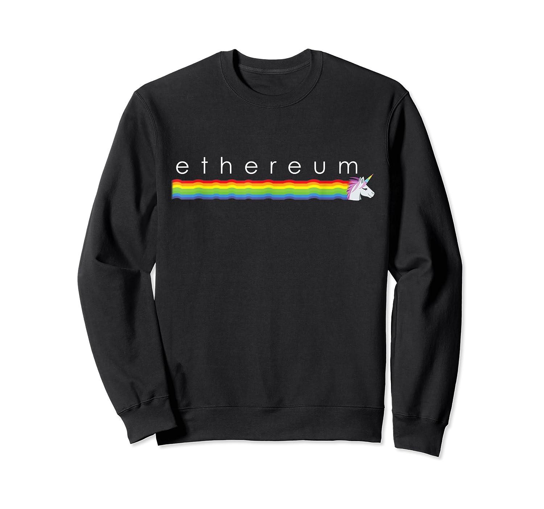 Ethereum Rainbow Shirts Crewneck Sweater
