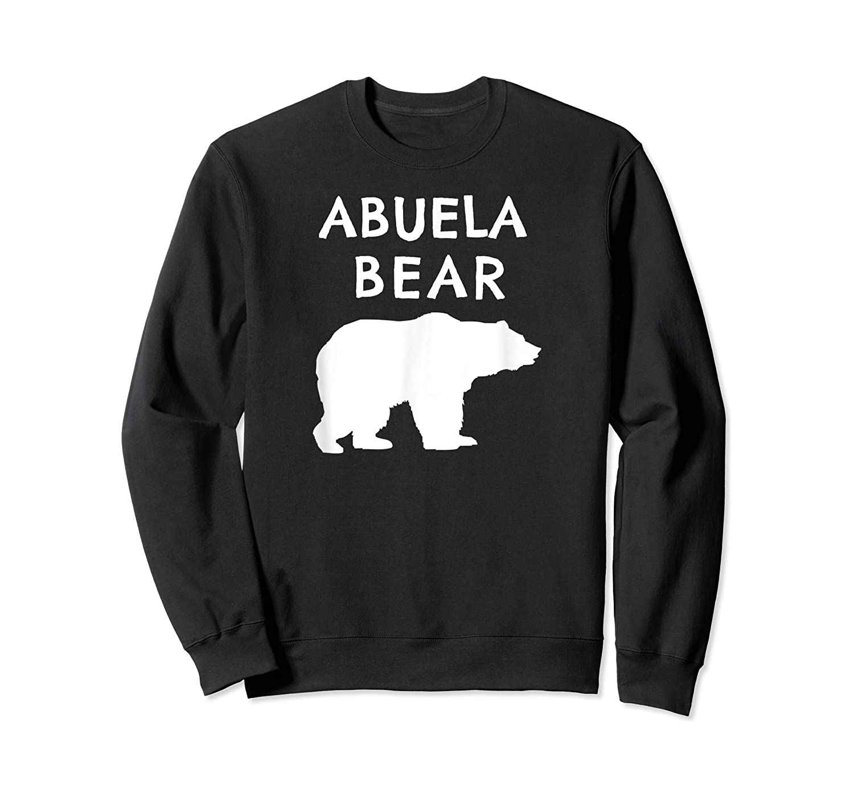 Abuela Bear Bear Gifts For Grandma Grandparents Shirts Crewneck Sweater