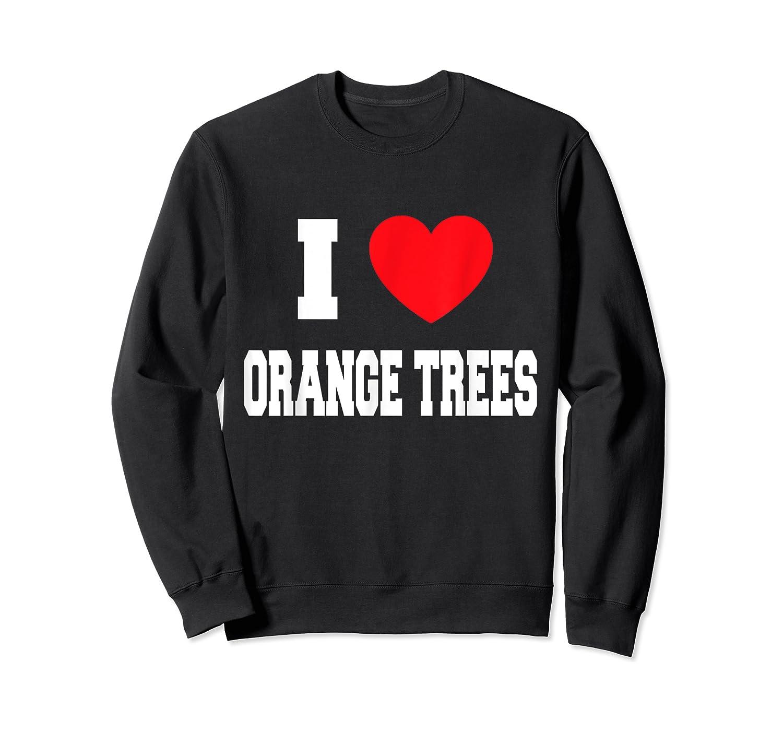 Love Orange Trees Shirts Crewneck Sweater