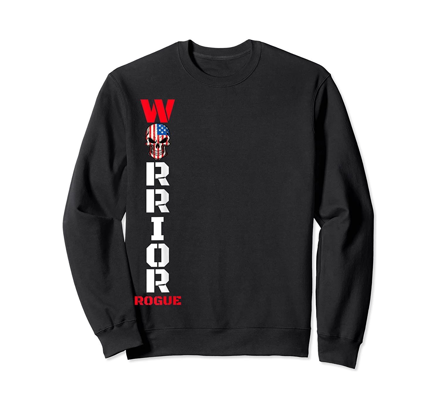 Supreme Rogue Warrior Patriot Military Armed Forces Rebel T-shirt Crewneck Sweater