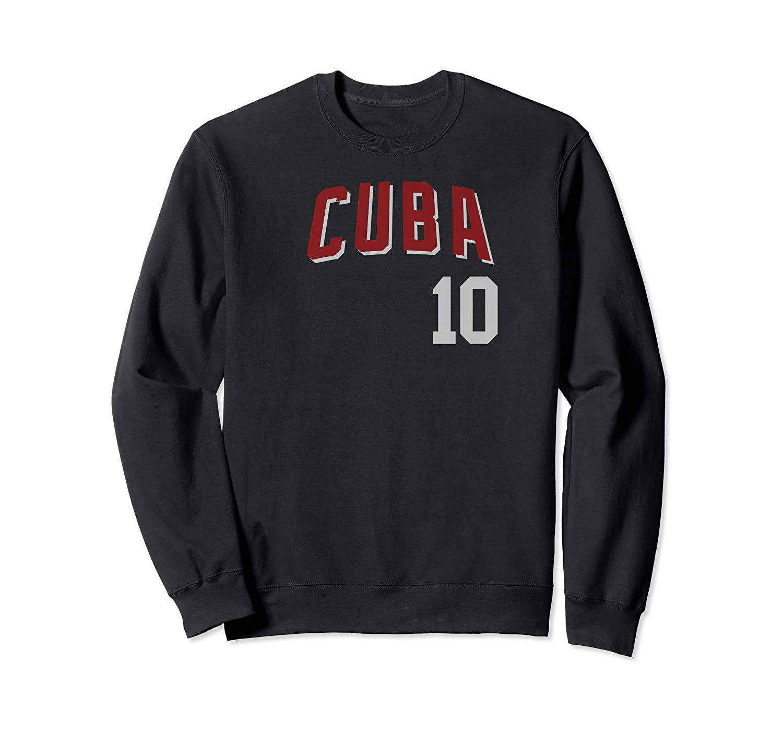 Cuba Or Cuban Design For Football Soccer Fans Shirts Crewneck Sweater
