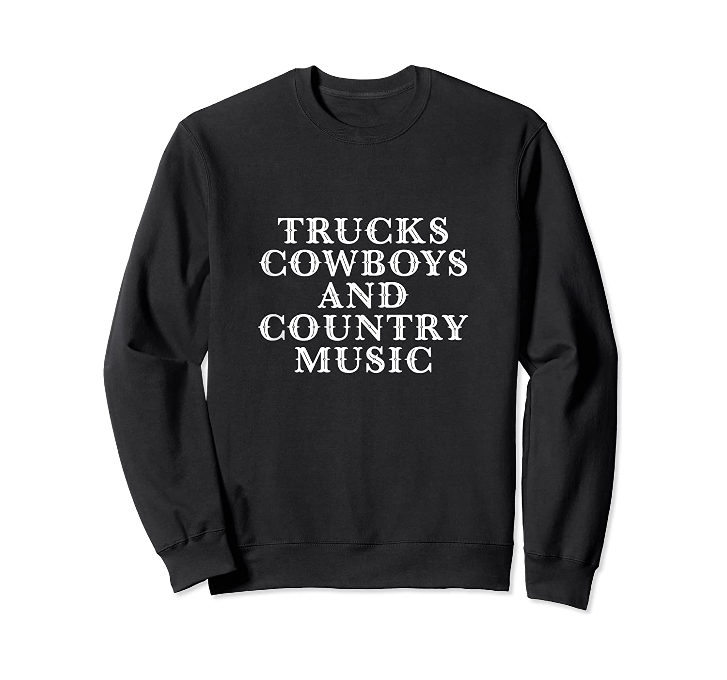 Trucks Cow And Country Music Life's Pleasures Shirts Crewneck Sweater