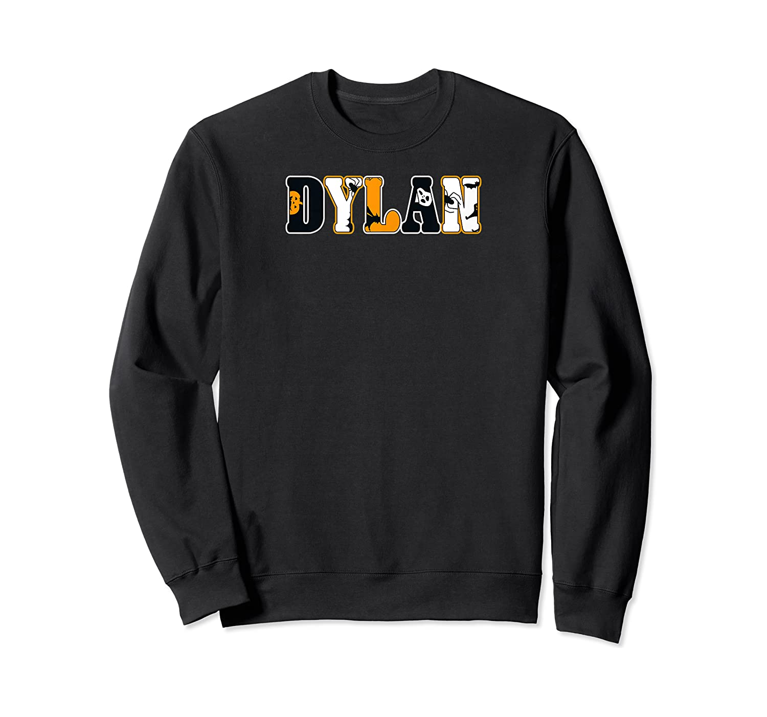 Dylan Spooky Name Halloween Gift Shirts Crewneck Sweater