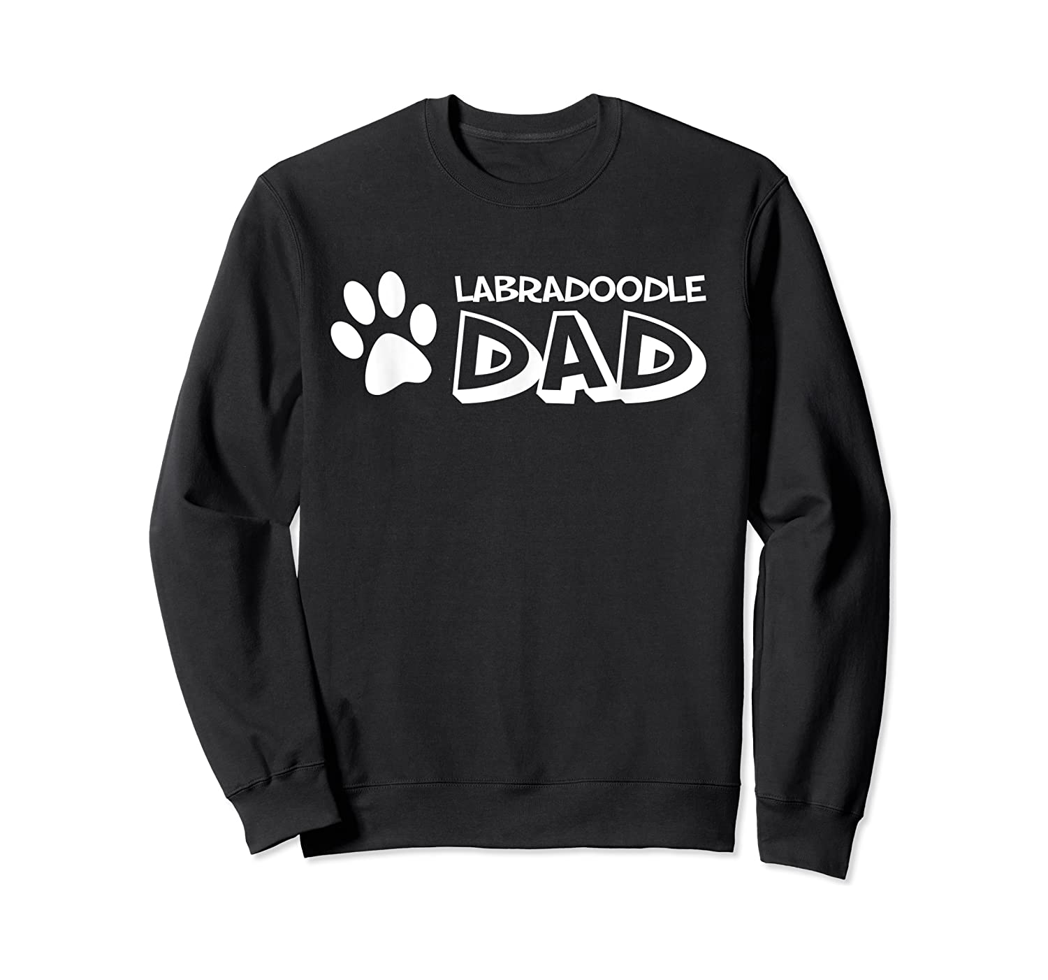 S Labradoodle Dad T-shirt For  Crewneck Sweater