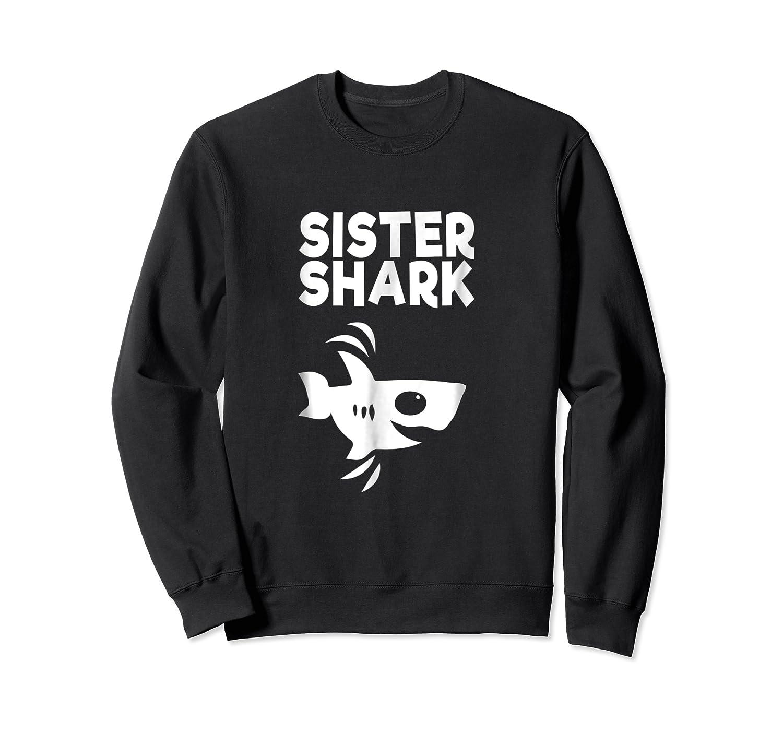 Funny Sister Shark T-shirt, Doo Doo Birthday Day Gift Tee Crewneck Sweater