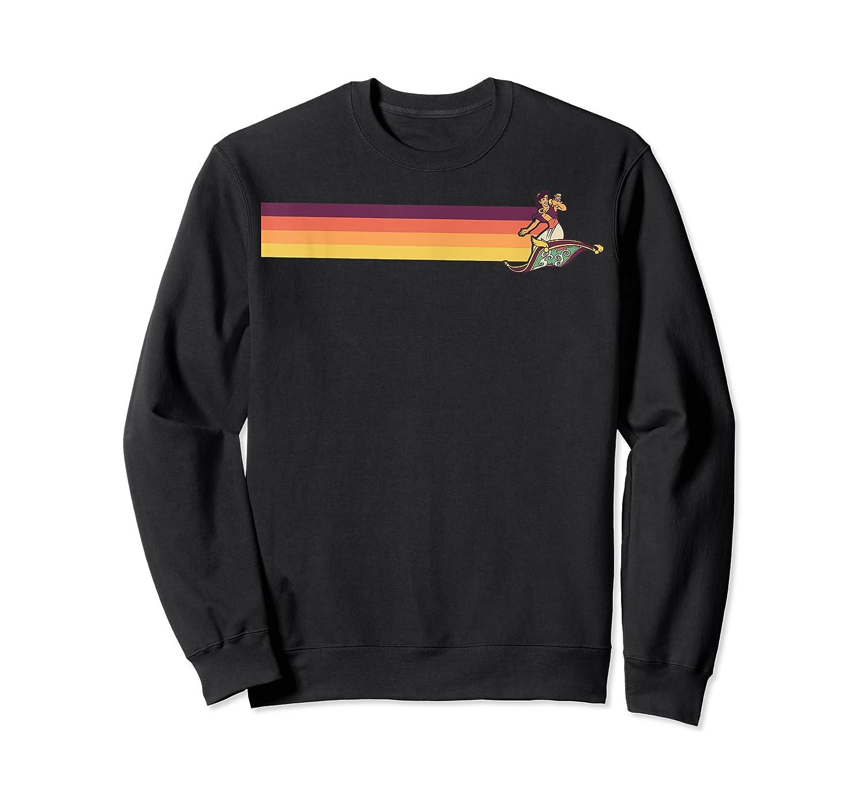 Aladdin Retro Line Shirts Crewneck Sweater