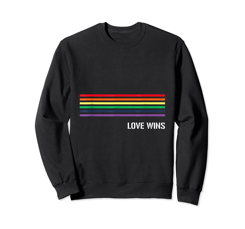 Gay Pride Lesbian Bisexual Transgender Shirts Crewneck Sweater