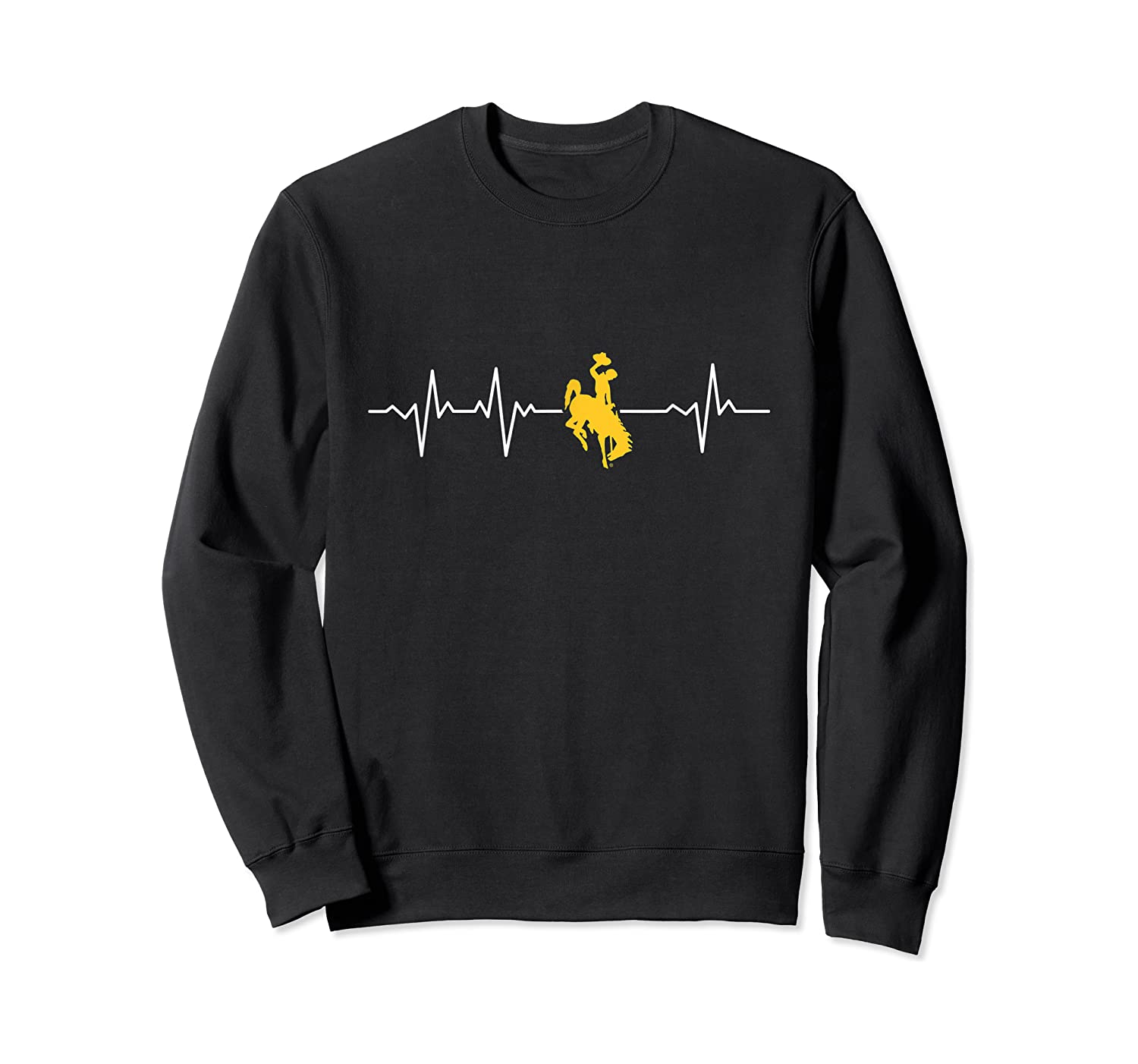 Wing Cow 051 Heartbeat T-shirt - Apparel Crewneck Sweater