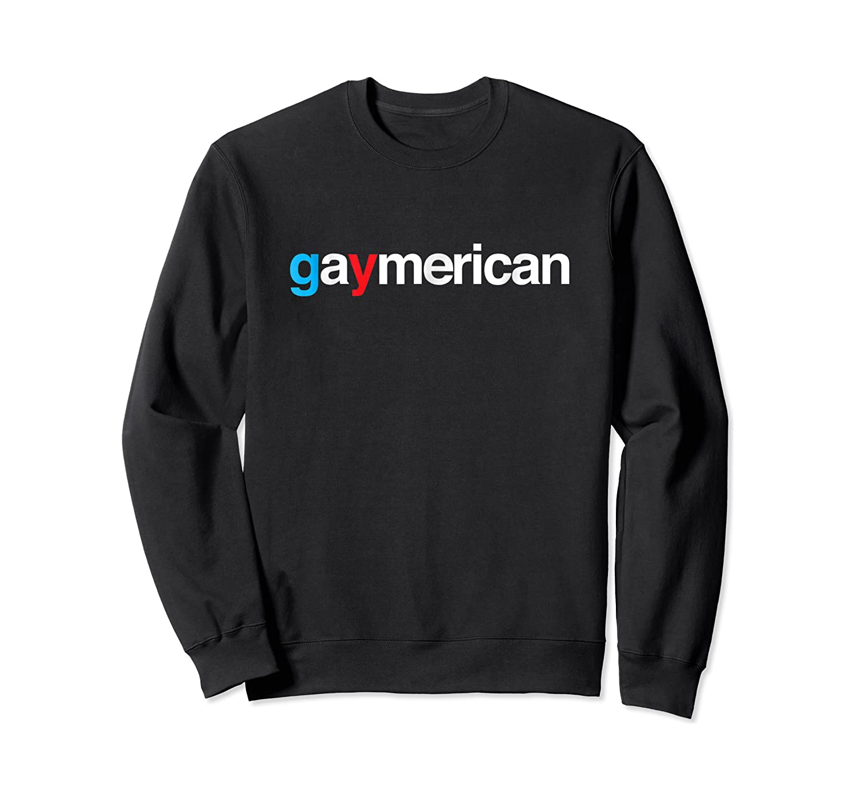 Gaymerican Shirts Crewneck Sweater