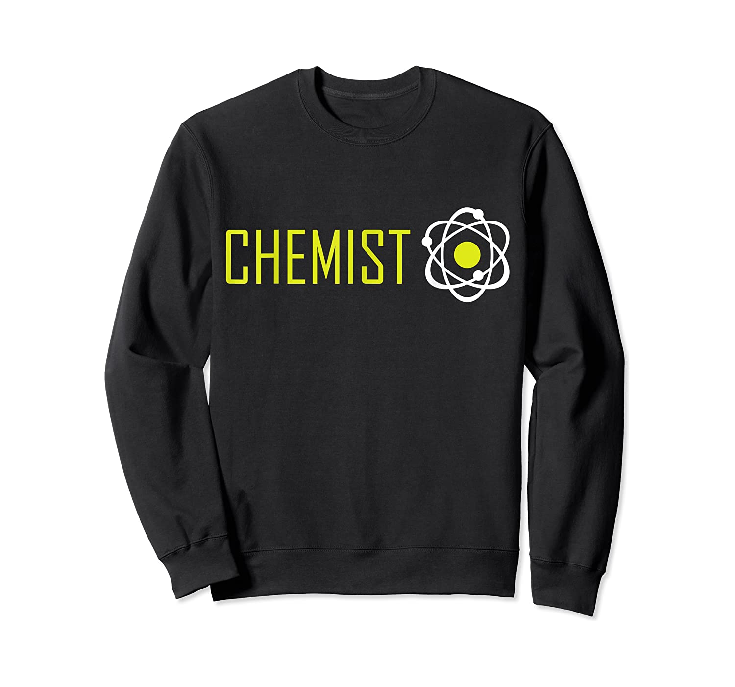 Scientist Chemis, March For Science Atom Protest Shirts Crewneck Sweater