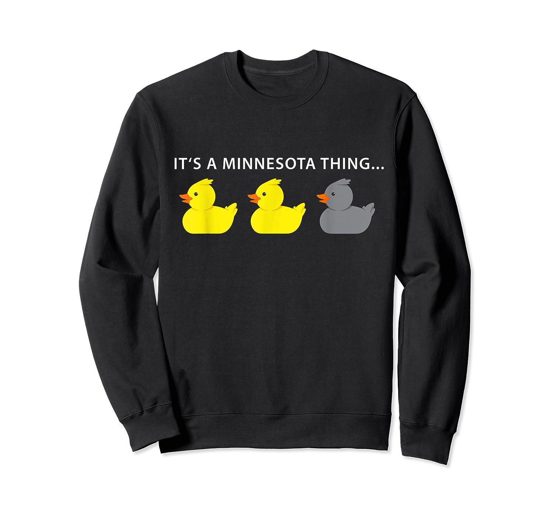 Duck Duck Gray Duck Minnesota Shirts Crewneck Sweater