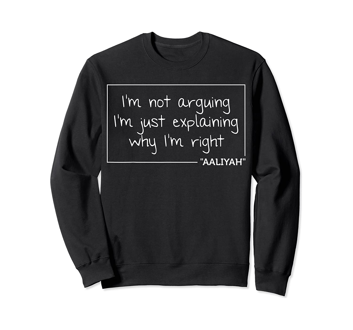 Quote Personalized Name Funny Birthday Gift Idea Shirts Crewneck Sweater