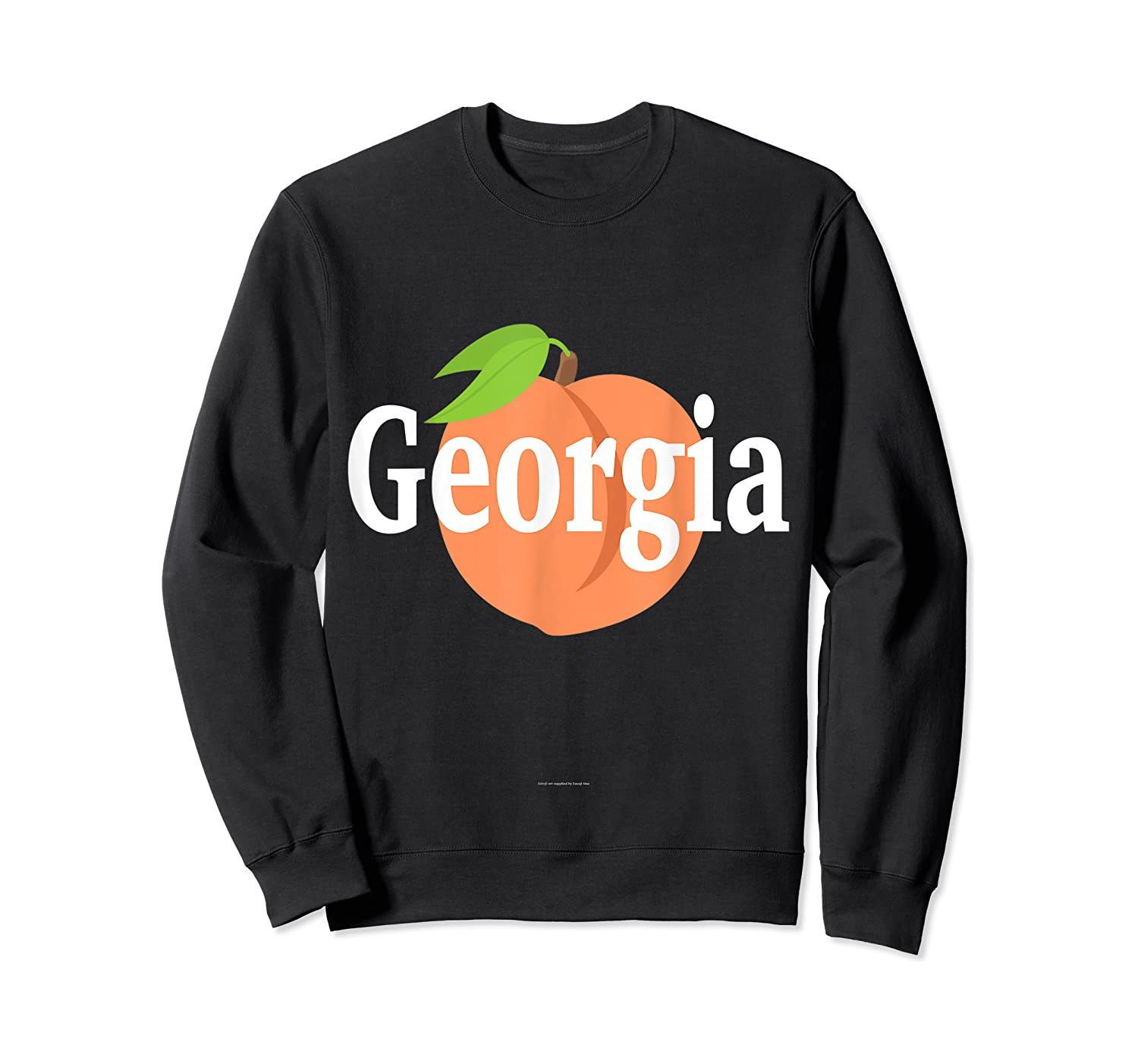 Georgia Peach State Pride Southern Roots T Shirt Crewneck Sweater