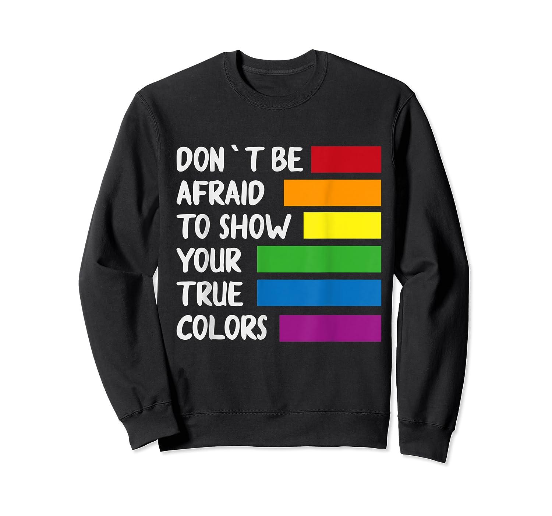 Queer Same Love Lgbtq Lgbt Funny Pride Parade Rainbow Shirt Crewneck Sweater