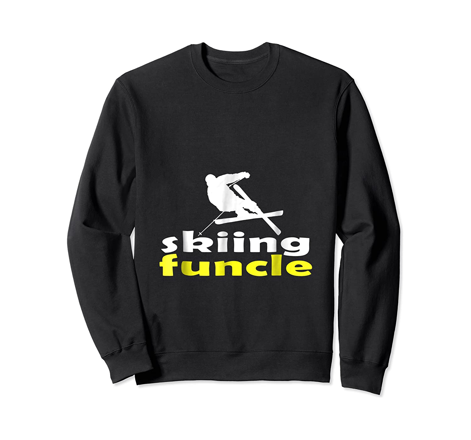 S Skiing Funcle Shirts Uncle Ski Gifts Definition For S Tee Crewneck Sweater