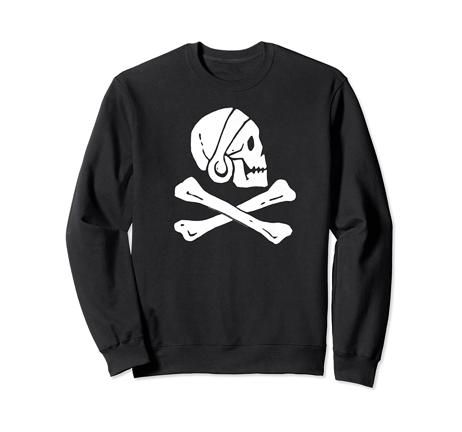 Uncharted Henry Avery Pirate Flag Shirt Crewneck Sweater