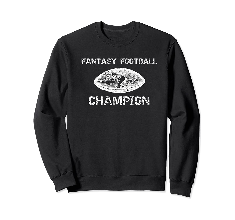 Premium Vintage Graphic Fantasy Football Champion Shirt Crewneck Sweater