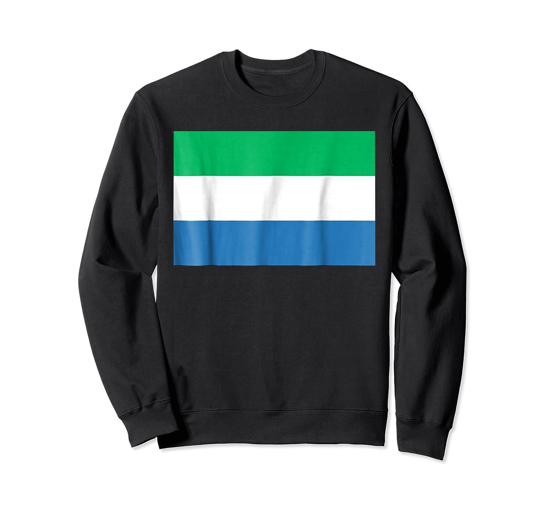 Flag Of Sierra Leone T-shirt Tee Tees T Shirt Tshirt Crewneck Sweater