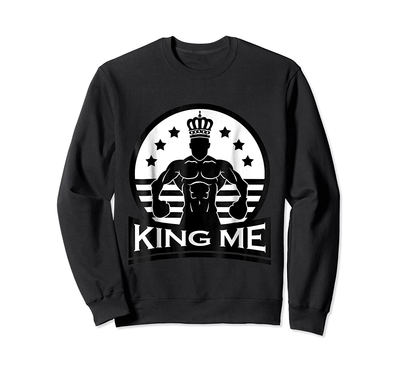 Grand Arte: King Me Boxing T-shirt Crewneck Sweater