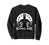 Grand Arte: King Me Boxing T-shirt Sweatshirt Black