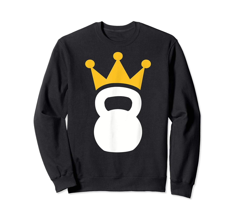 Kettlebell Crown T-shirt Crewneck Sweater