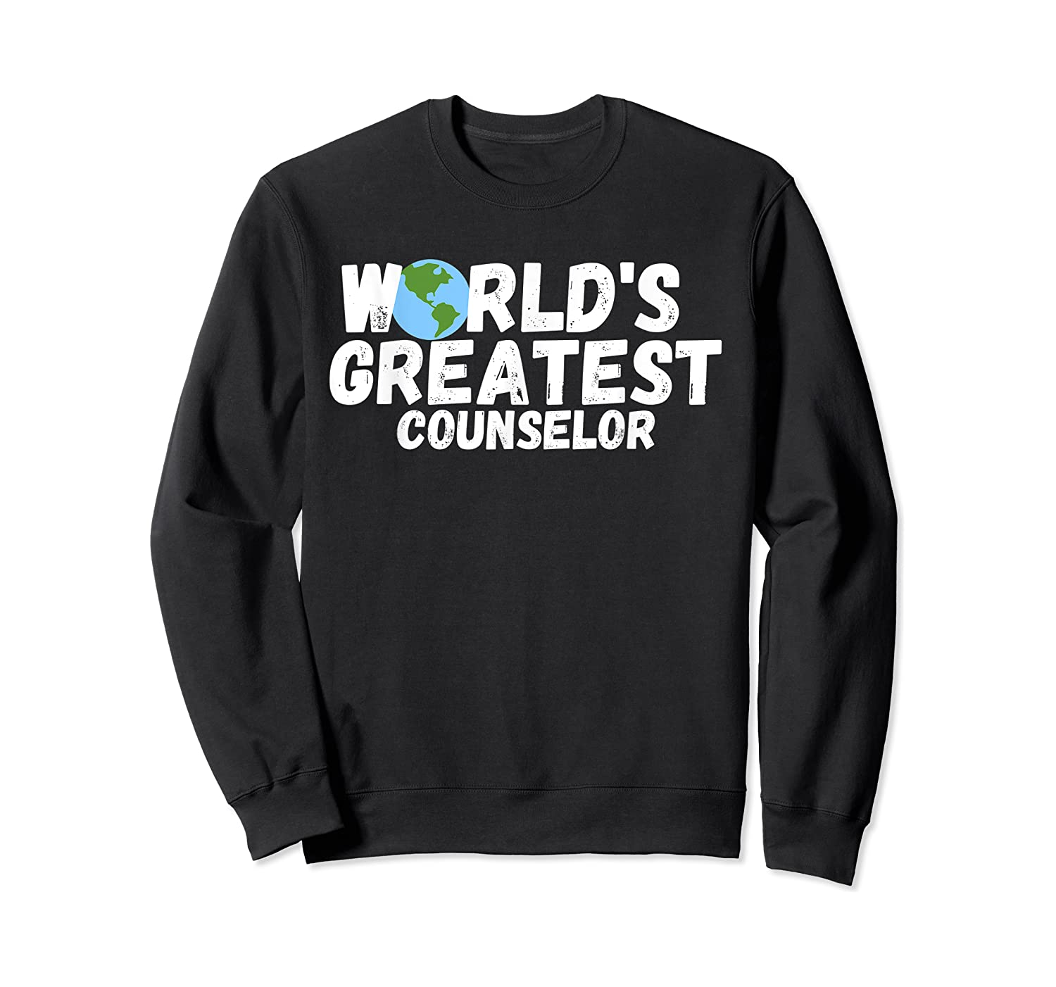 World's Greatest Counselor Gift Shirts Crewneck Sweater