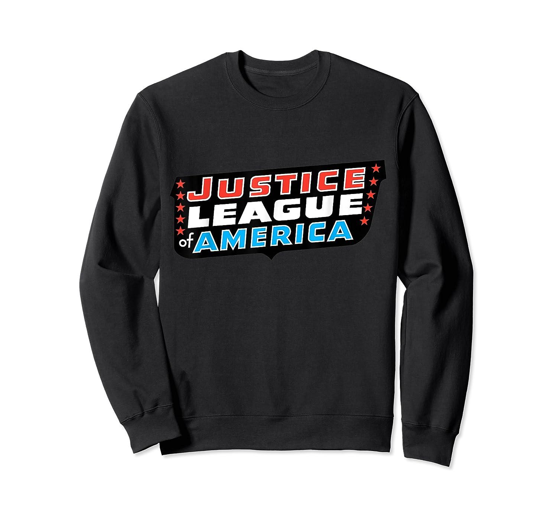 Justice League Logo Jla Classic 01 Shirts Crewneck Sweater
