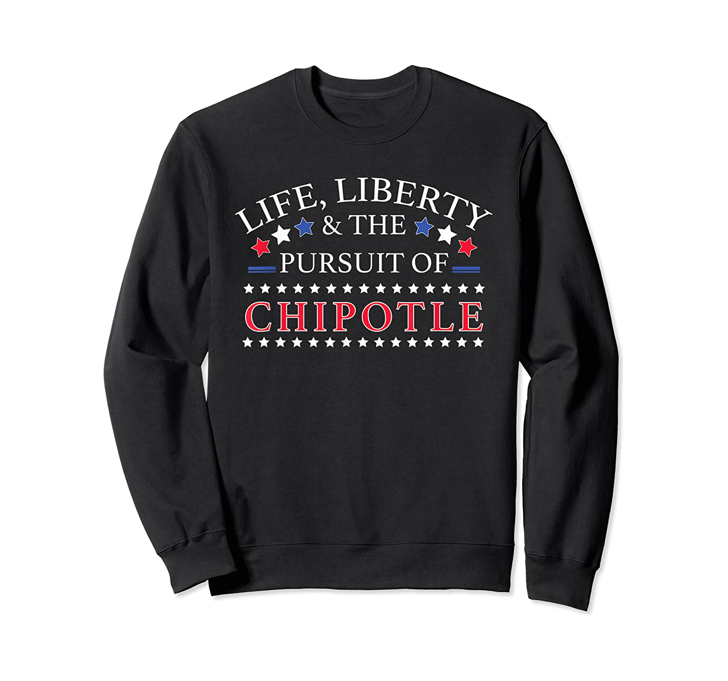 Funny Chipotle Peppers Graphic - Love Chipotle Peppers Gift T-shirt Crewneck Sweater