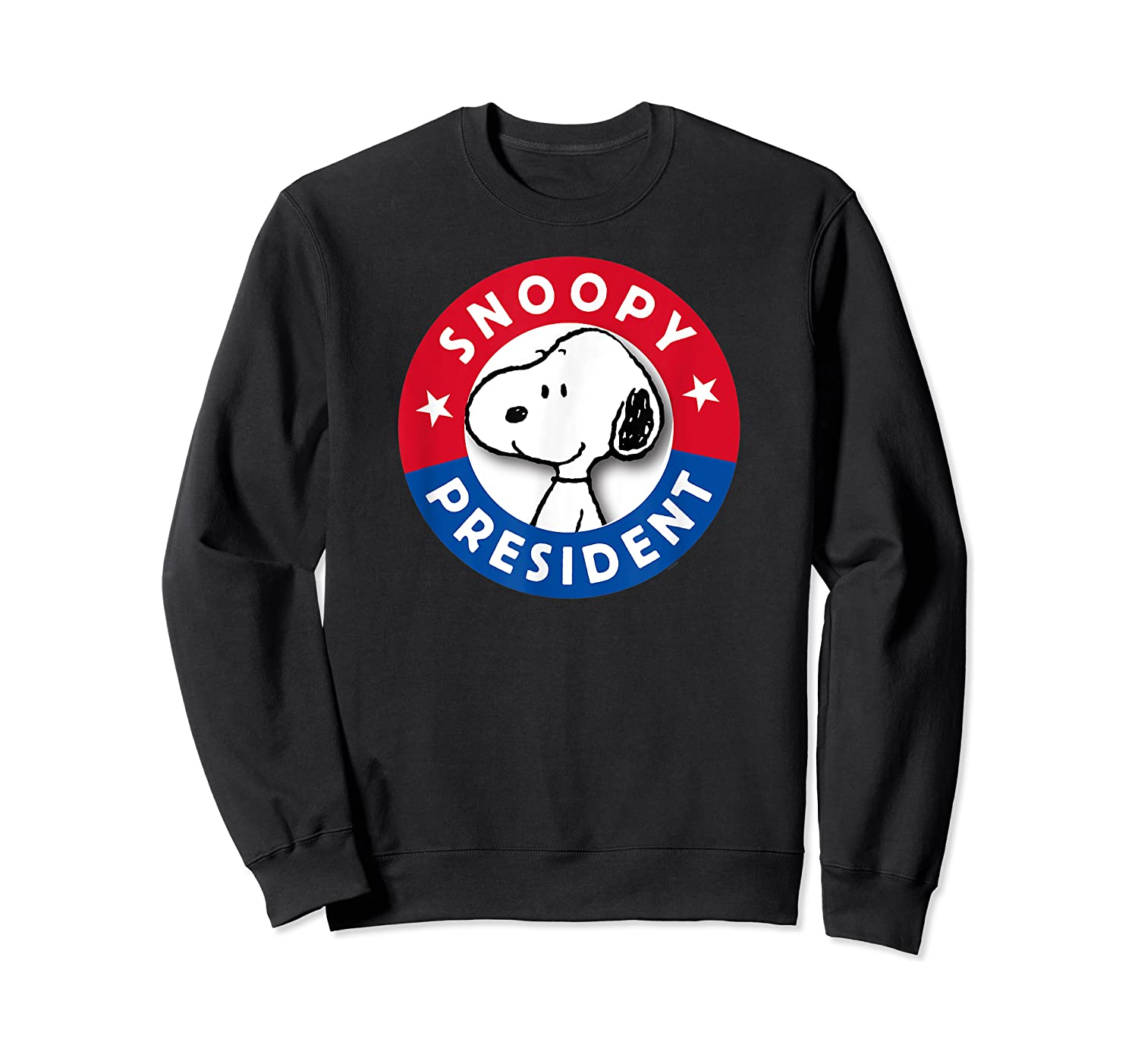 Peanuts Snoopy For President Shirts Crewneck Sweater