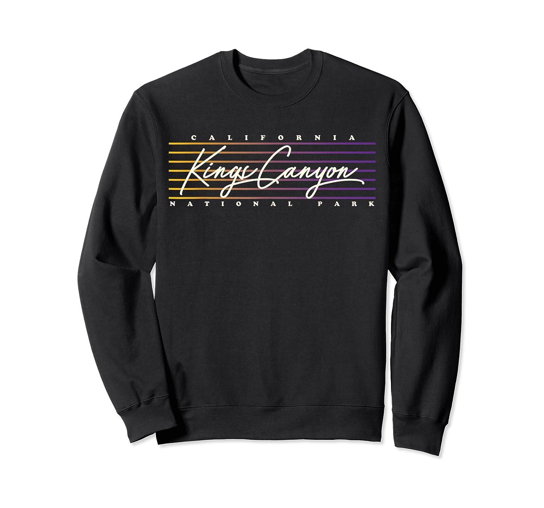 Retro Kings Canyon National Park T-shirt Crewneck Sweater