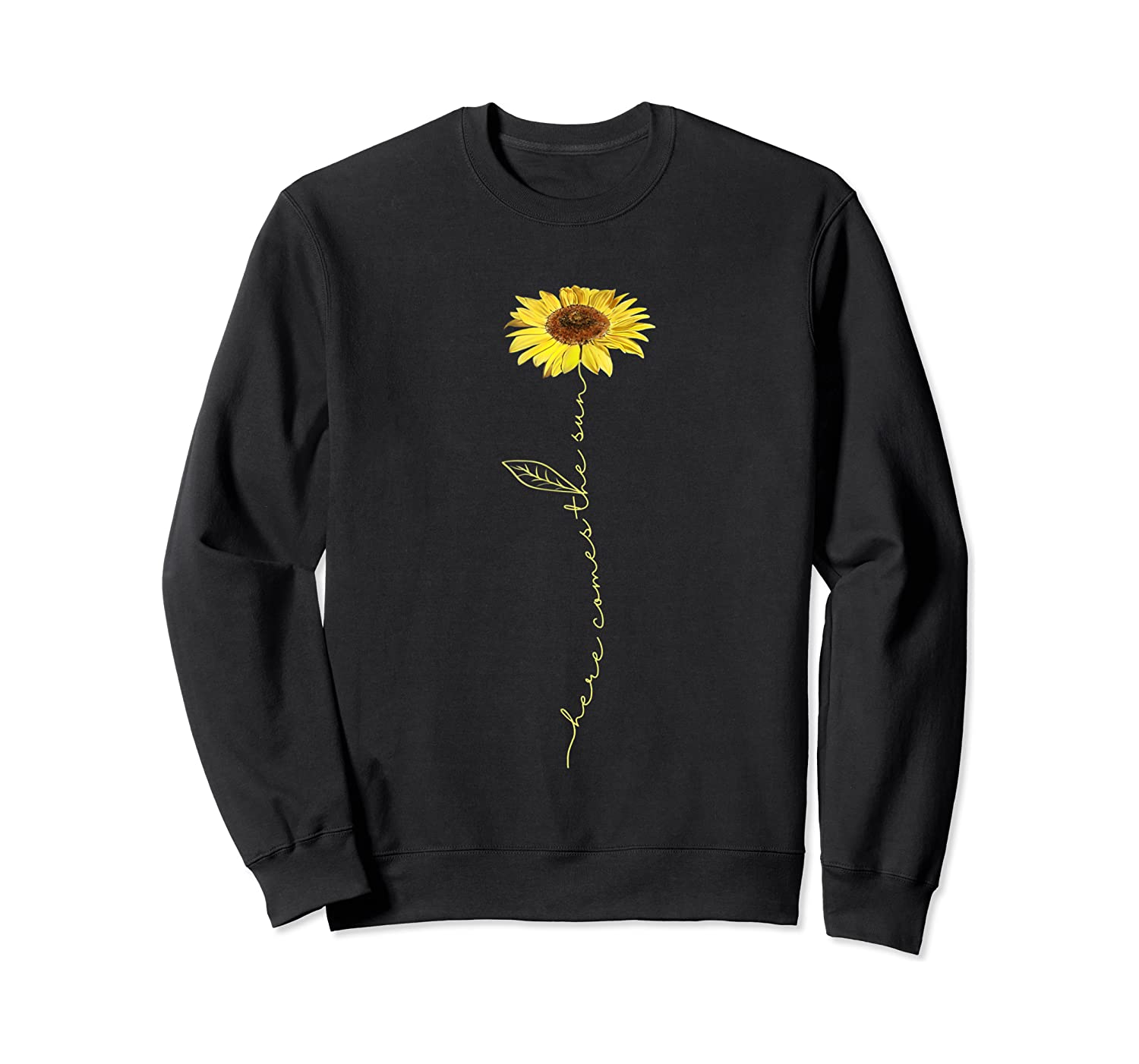 Here Comes The Sun Hippie T-shirt Crewneck Sweater