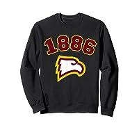Winthrop 1886 University Apparel Shirts Sweatshirt Black