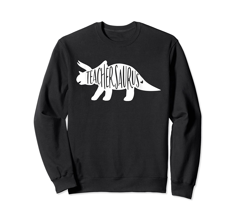 Teasaurus Shirt - Tea Dinosaur Shirts - Dinosaur Tee Crewneck Sweater