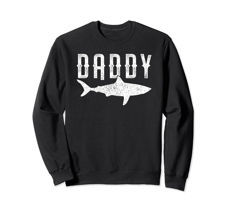 Daddy Shark - Mama Shark - Funny Father's Day Sweatshirt