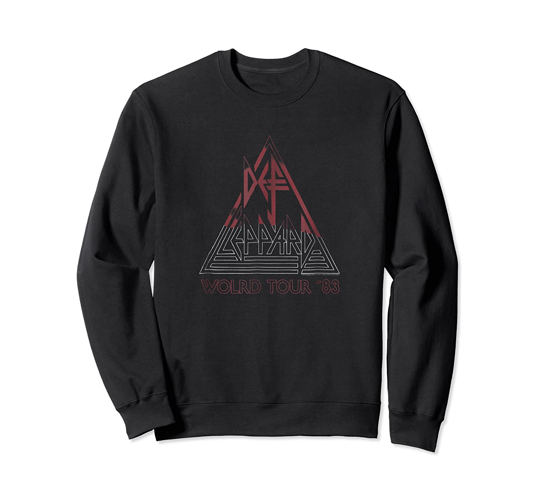 Def Leppard World Tour '83 Shirts Crewneck Sweater