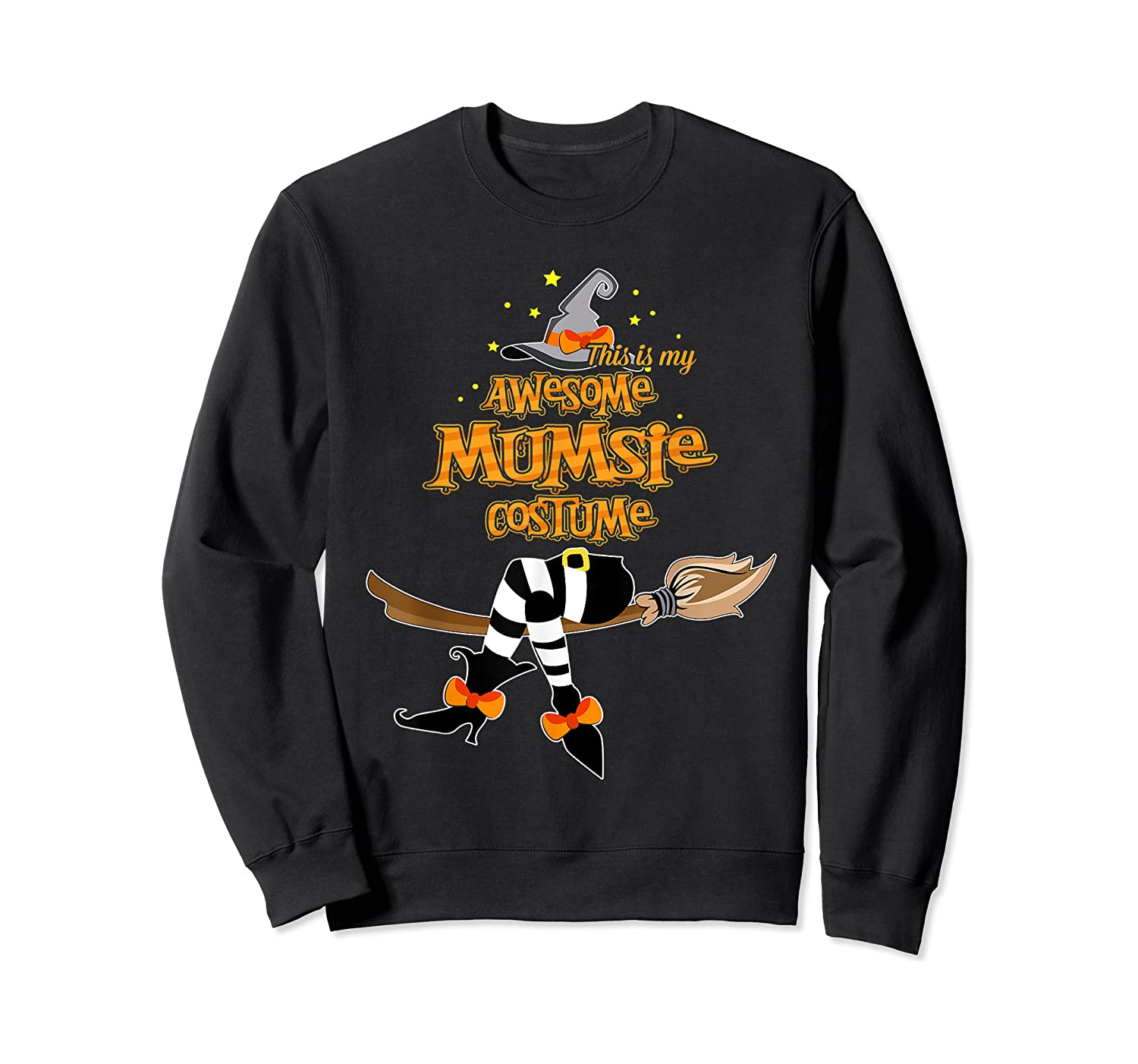 This Is My Awesome Mumsie Costume - Grandma Gift T-shirt Crewneck Sweater