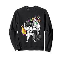 Weightlifting Ness Unicorn Shirts Sweatshirt Black