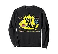 Mtv Yo! Raps Shirts Sweatshirt Black