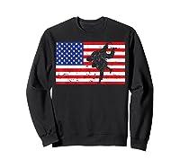 Distressed Judo Gi Usa American Flag Vintage Martial Arts T-shirt Sweatshirt Black