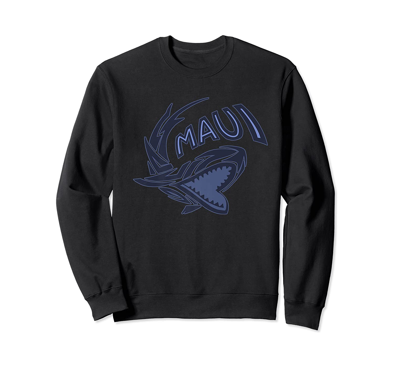 Maui Hawaii Shark Shirts Crewneck Sweater