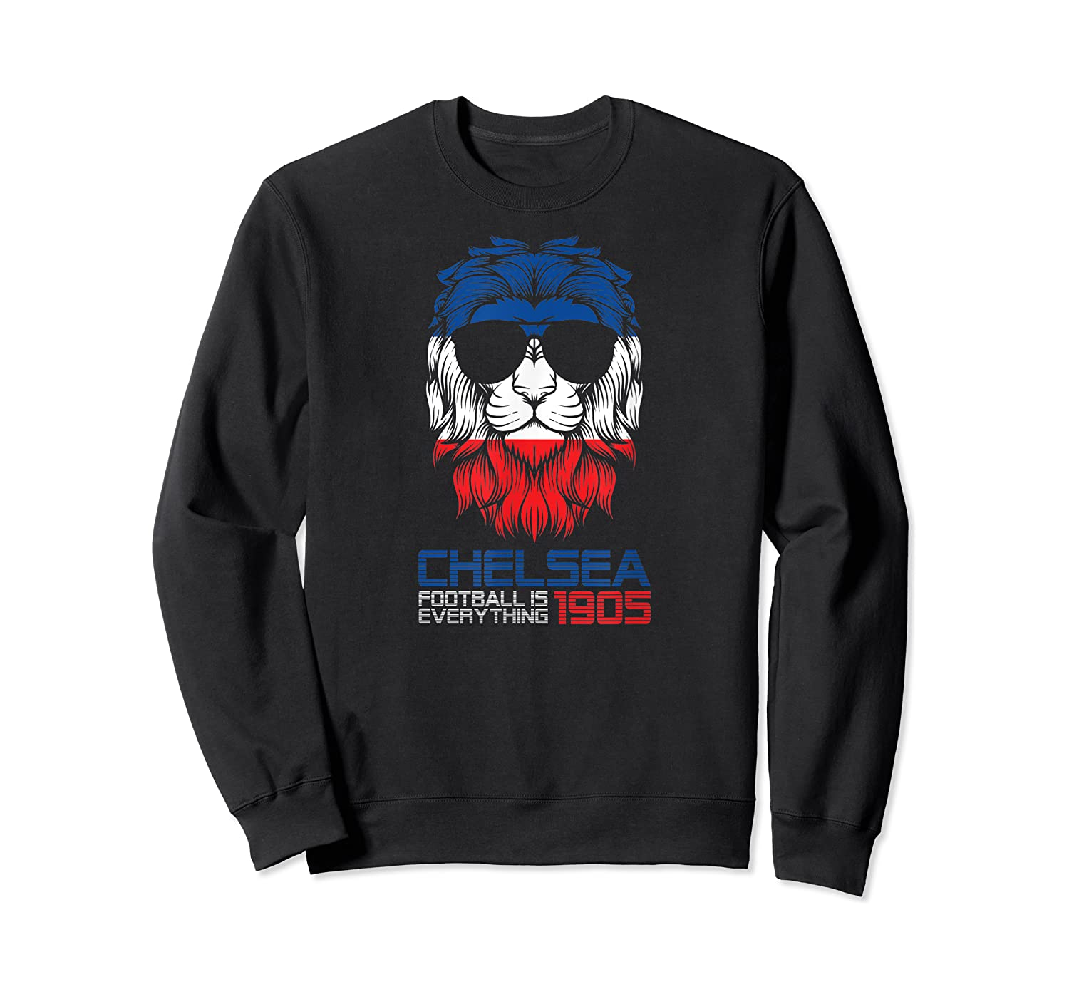 Football Is Everything - Chelsea Lion Pride Retro T-shirt Crewneck Sweater