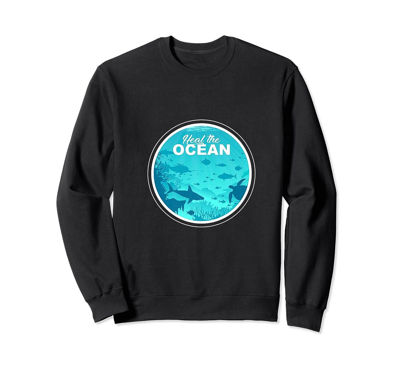 Heal The Ocean Premium T-shirt Crewneck Sweater