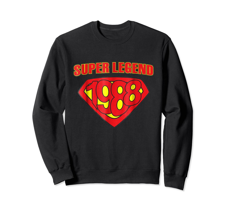 Super Legend 1988 Comic Hero - T-shirt Crewneck Sweater