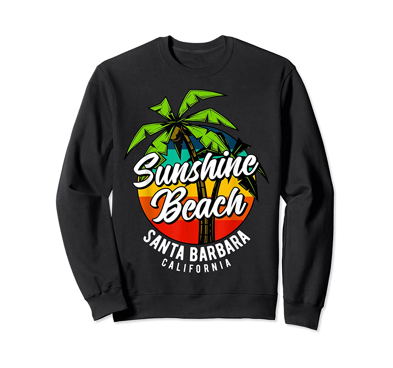 California Hawaii Surf Surfing Board Beach Vintage Retro Shirts Crewneck Sweater