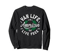 Van Dweller Clothing & Van Life Apparel - Van Life Premium T-shirt Sweatshirt Black